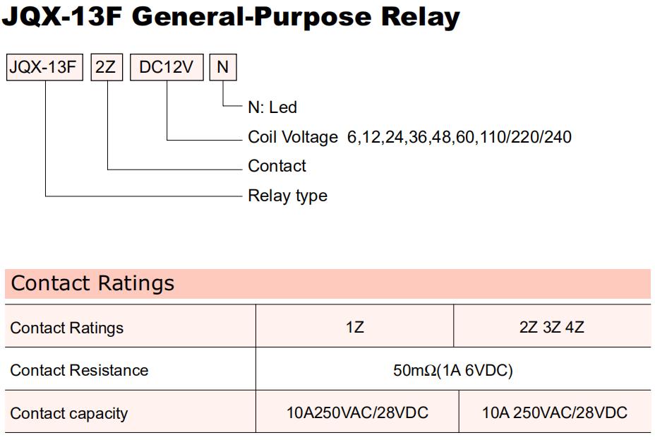 General Purpose Relay-LY2